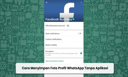Cara Menyimpan Foto Profil WhatsApp Tanpa Aplikasi