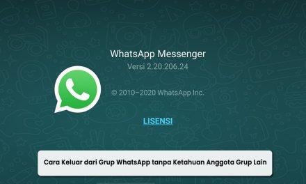 Cara Keluar dari Grup WhatsApp tanpa Ketahuan Anggota Grup Lain